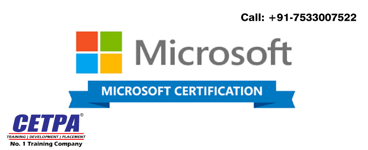 get best microsoft certification training in dehradun from cetpa